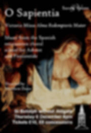 O Sapientia poster