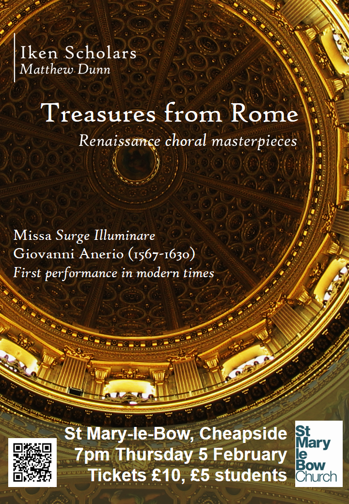 Treasures from Rome Poster v.Final