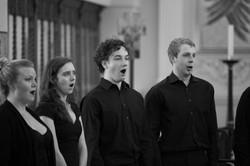 IKENS 2015 Left hand side of choir