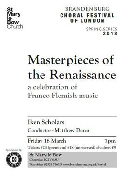 Franco-Flemish Poster