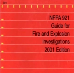 NFPA 921 – 9.3.6 Spoliation of Evidence