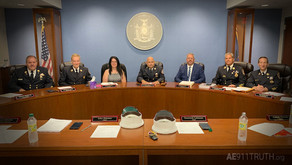 N.Y. Area Fire Commissioners Honor 343 Fallen Firefighters by calling for a new 9/11 Investigation