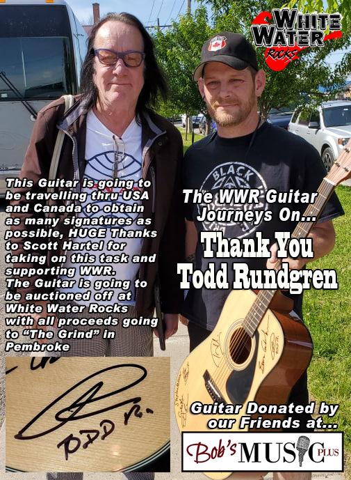 WWR Guitar Todd Rundgren