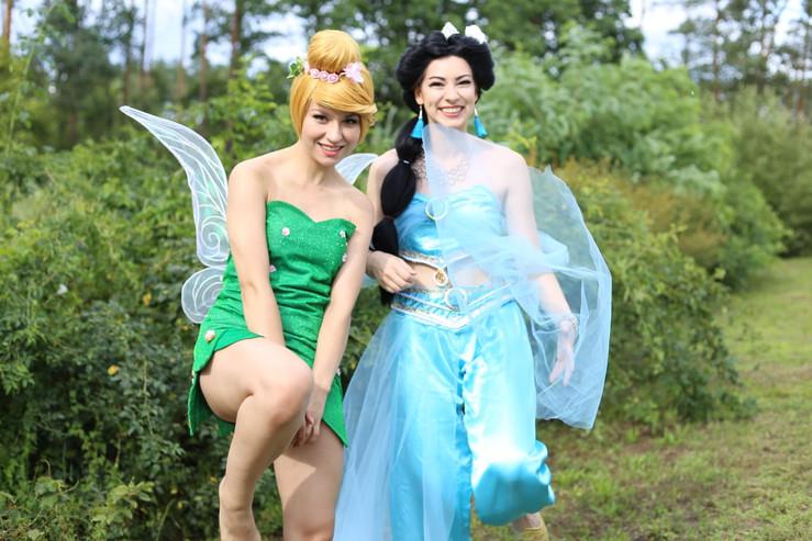 Prinzessin und fee - Foto by S.Rüdiger