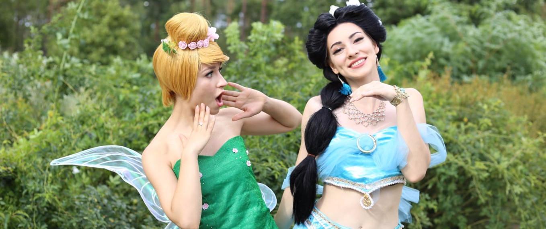 die kleine Fee und die orientalische Prinzessin