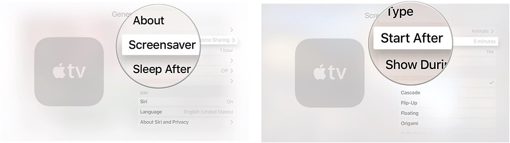 Set Screensaver as Start As Never: Settings—> General—> Screensaver—> Start After—> Never