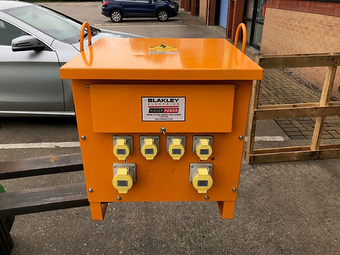 totally refurbished Blakley transformer