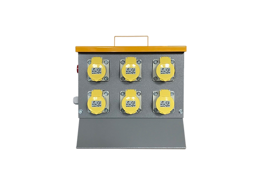 c110 Volt MCB Protected Distribution Box 2x32A amp; 4x16A sockets