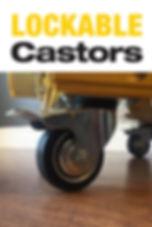 10 kva mobile castors easy move