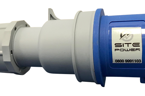 Blue 230 Volt - 16 Amp Plug