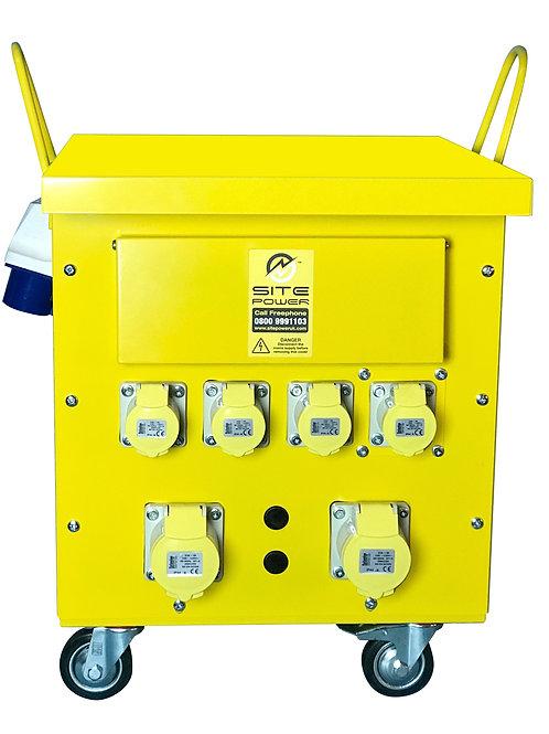 10 KVA Transformer Plug & Go 230/110v Fully Mobile