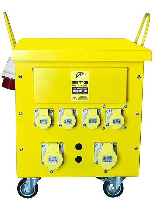 10 KVA Transformer Plug & Go 400/110v Fully Mobile