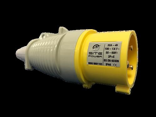 Yellow -110 Volt - 32 Amp Plug