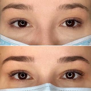 lash lift lash tint, eye brow wax/tint