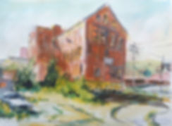 Old Tanning Factory, Gloversville, 11x14