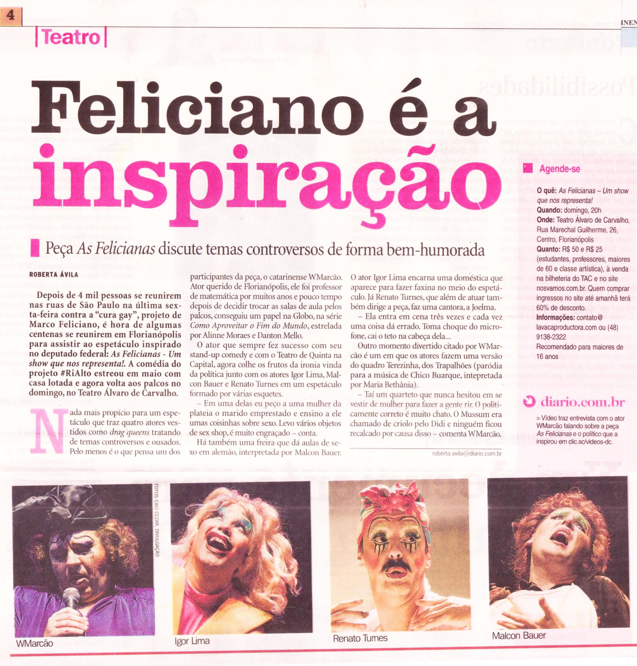 As Felicianas - Variedades 2- 26jun13.jpg