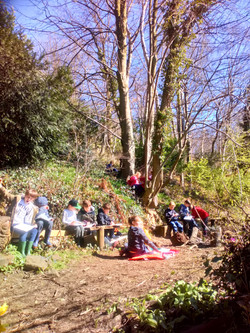 Forest School Art Session