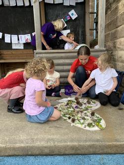 outdoor collective worship