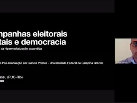 Campanhas eleitorais digitais e democracia (vídeo)