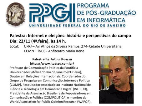 Internet e eleições no PPGI - UFRJ