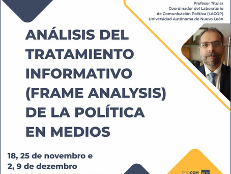 Análisis del tratamiento informativo de la política en medios
