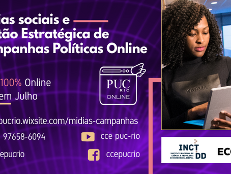 Mídias sociais e gestão estratégica de Campanhas Políticas Online