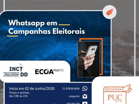 Programa de capacitação em campanhas eleitorais digitais (PUC-Rio/INCT.DD)