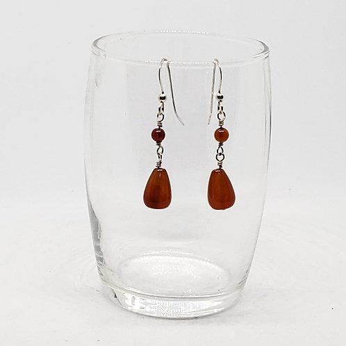 Beautiful Carnelian Earrings
