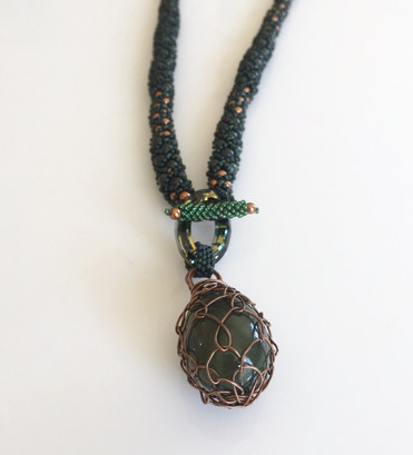 Green Jade and Copper Necklace.jpg