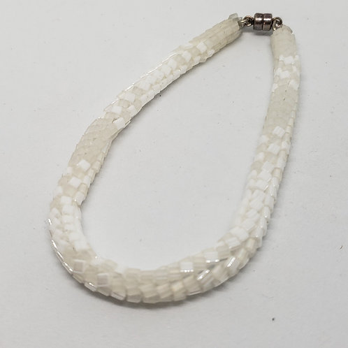 Simple Elegant White Bracelet