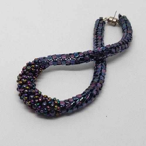 Simple Elegant Blue and Purple Bracelet