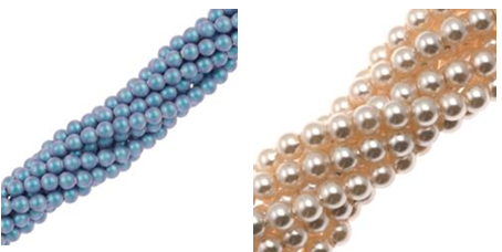 Are Swarovski crystal pearls real?