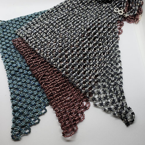 Custom Made Beaded Scarf