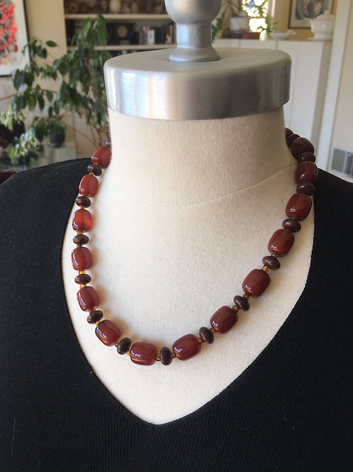 Bold Carnelian Necklace  Price