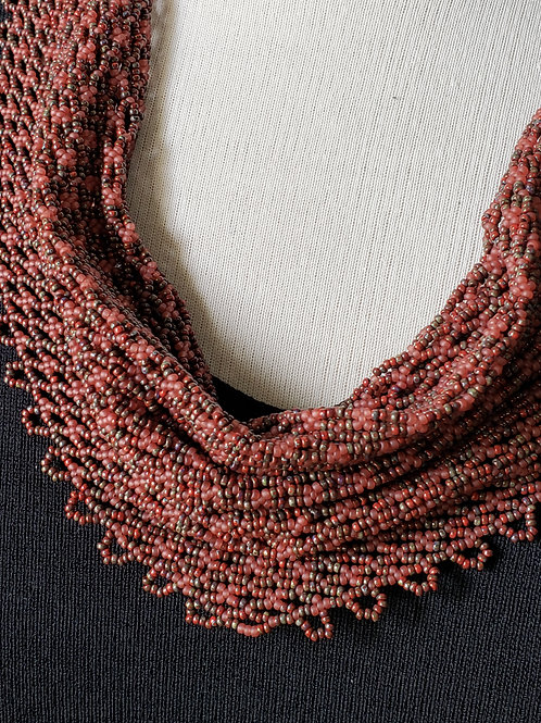 Red Hot Desert Scarf