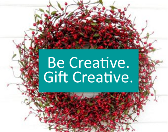 Be Creative. Gift Creative. Wreath.png