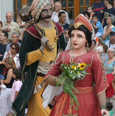 Gegants vells de Tarragona o del Cós del Bou