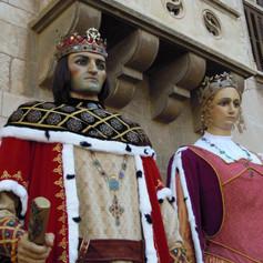 Gegants de Vilafranca del Penedès