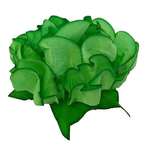 Danielle Green Fabric Flower Shells