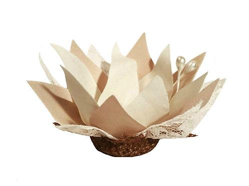 Lotus Fabric Flower Shells