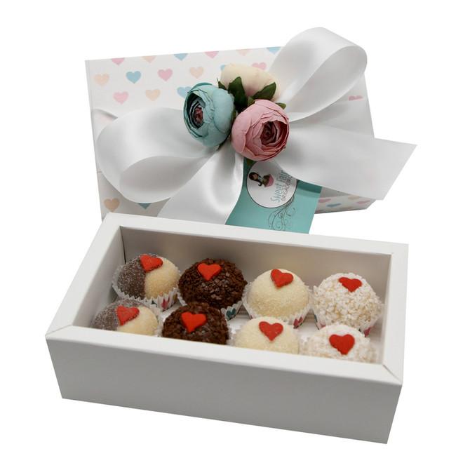 Valentine's Day Brigadeiro Gift Box