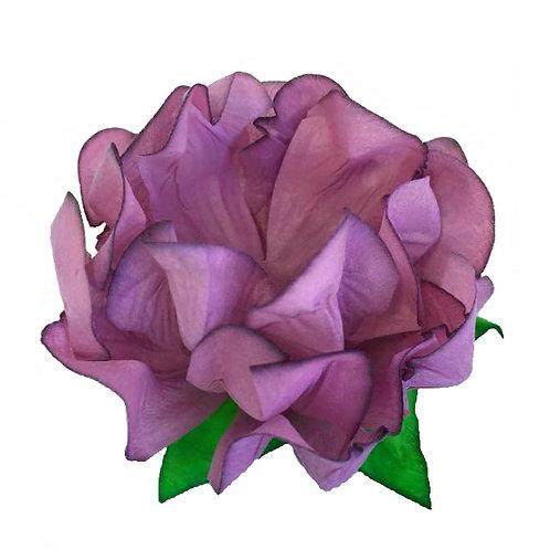 Danielle Dusty Rose fabric Flower Shell