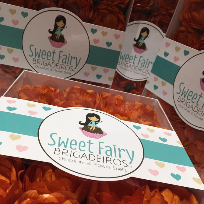 Sweet Fairy Brigadeiros - Flower Shells