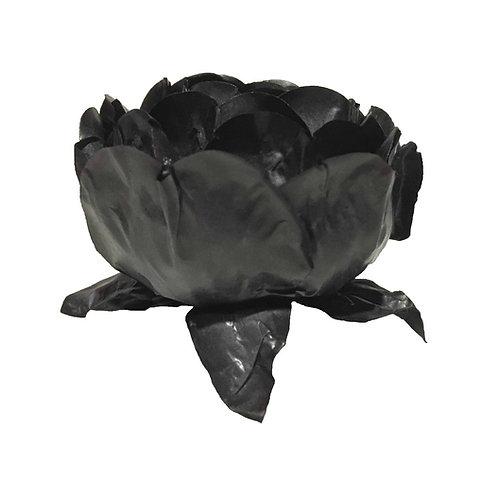 Bella Black Paper Flower Shells