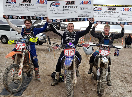 Top 3 Overall Riders - Wild Bunch MC Racing