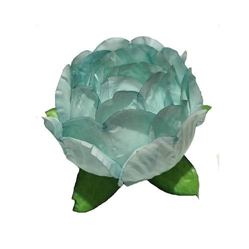 Bella Light Turquoise Paper Flower Shells