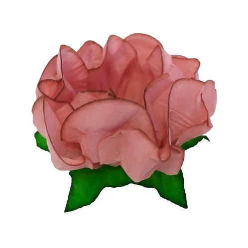 Danielle Blush Fabric Flower Shell