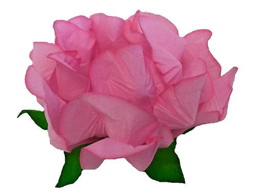 Danielle Pink Fabric Flower Shell