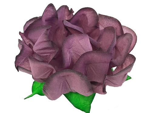 Danielle Mauve Fabric Flower Shells