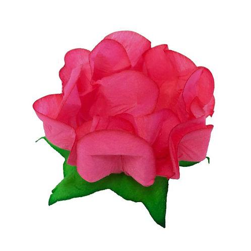 Danielle Coral Fabric Flower Shells